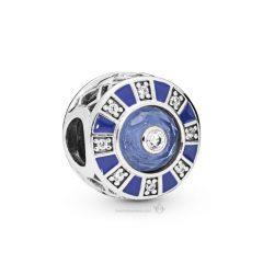 фотография шарм пандора голубая мозаика 879675М-1