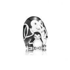 фотография шарм пандора семья пингвинов 791404EN60-1