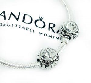 бусины пандора серебро фотография 2