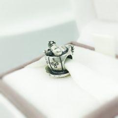 фотография шарм пандора мышка в чашке 791107-2 №2