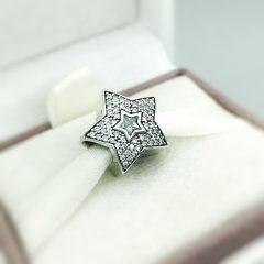 фотография шарм пандора звезда желаний 791384CZ №1