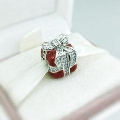 фотография шарм пандора красный подарок 317PR1752-2 №1