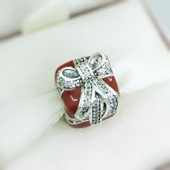 фотография шарм пандора красный подарок 317PR1752-2 №2