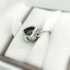 фотография подвеска пандора сверкающая любовь 390366CZ №2