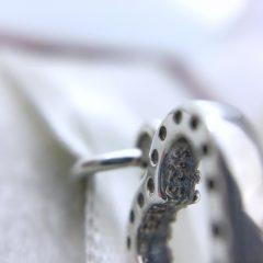 фотография подвеска пандора нежное сердце 791304CZ- №3
