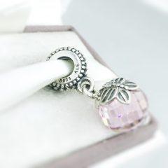 фотография подвеска пандора розовая бабочка 791258PCZ №2