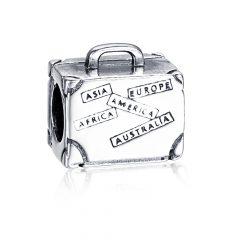 фотография шарм пандора чемодан я люблю путешествовать 908745НЧ №1