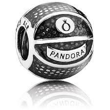 фотография шарм пандора баскетбольный мяч 791201EN44