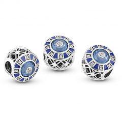 фотография шарм пандора голубая мозаика 879675М-1 №1