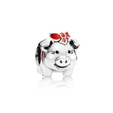 фотография шарм пандора свинка копилка А5231К-1