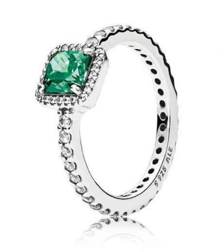 фотография кольцо пандора вечная элегантность в45236р-2