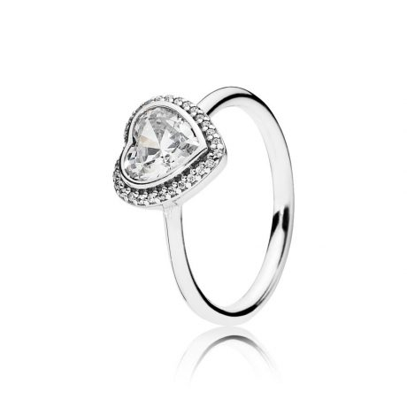 фотография кольцо пандора любовь серебро 56347р-3