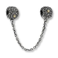 фотография защитная цепочка пандора диковинные цветы 561254-1