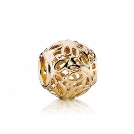 фотография шарм пандора золотые бабочки 793546-2