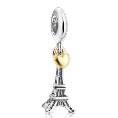 фотография подвеска пандора я люблю париж(эйфелева башня) 598745-3