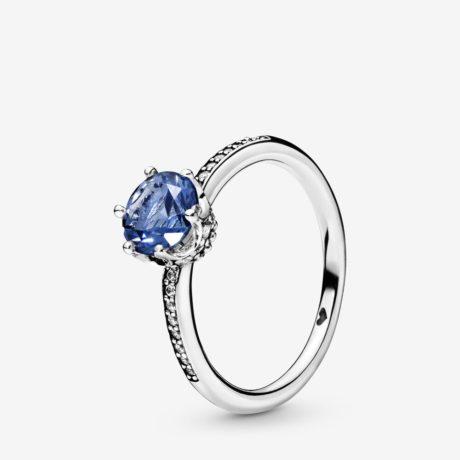 фотография кольцо пандора синее королевское сияние 198289NSWB