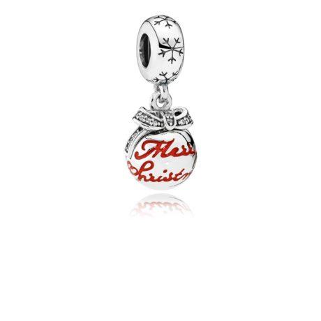 фотография подвеска пандора чудесный шар на рождество 56734-2