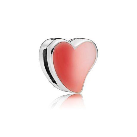 фотография клипса пандора reflexions сердце любви 797809ENMX-