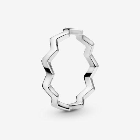 фотография кольцо пандора зигзаг удачи (58р-р) 197752