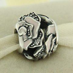фотография шарм пандора деликатная роза 791527EN40 №3