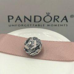 фотография шарм пандора деликатная роза 791527EN40 №1