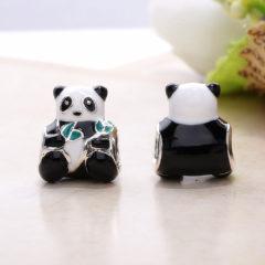 фотография шарм пандора милая панда 796256ENMX №1