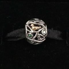 фотография коллекционный шарм пандора птички на веточках 791213CZN №3
