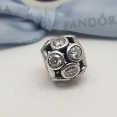 фотография шарм пандора сияющие кружочки 791153CZ №3