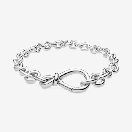 фотография браслет пандора символ бесконечной любви 598911С00