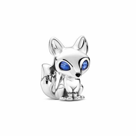 фотография шарм пандора очаровательная голубоглазая лиса 799096C01