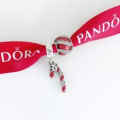 фотография набор шармов пандора новогодние украшения