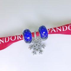 фотография набор шармов пандора зимний вечер