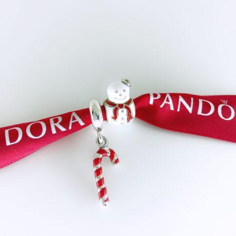 фотография набор шармов пандора милый снеговик