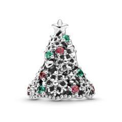 фотография шарм пандора сверкающая рождественская елочка 799226C01 №4