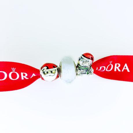 фотография набор шармов пандора новогоднее веселье