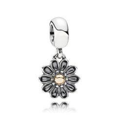 фотография коллекционная подвеска пандора необыкновенный цветок (с позолотой) 791210-