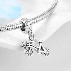 фотография коллекционная подвеска  пандора велосипед 791268-