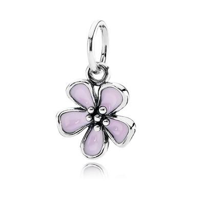 фотография подвеска пандора цветок вишни 390729ENMX-