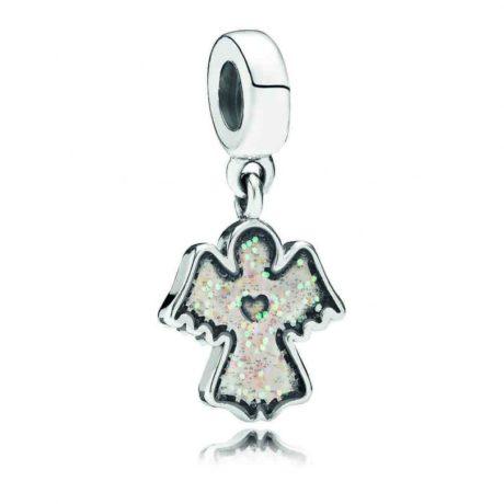фотография подвеска пандора светящийся ангел 791238EN51
