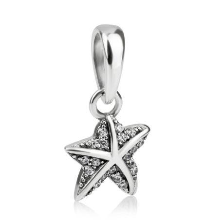фотография кулон пандора морская звезда 390404CZ-