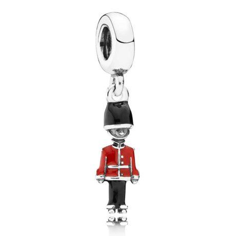 фотография подвеска пандора игрушечный солдатик 791513ENMX-