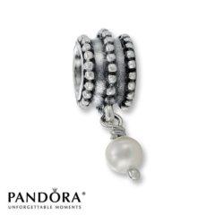 фотография коллекционная подвеска пандора милая жемчужинка 790132Р-