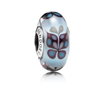фотография мурано пандора голубые бабочки 791622-
