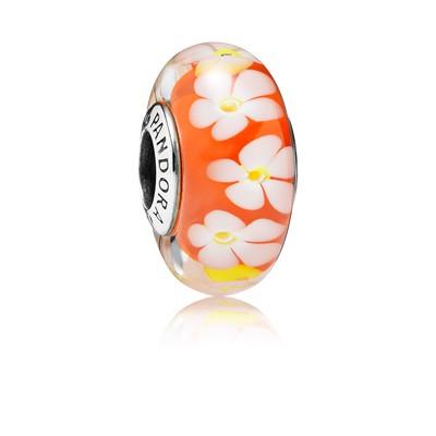 фотография мурано пандора тропические цветы 791624-