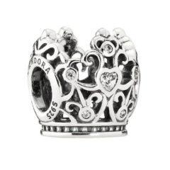 фотография шарм пандора дисней корона принцессы 791580CZ-