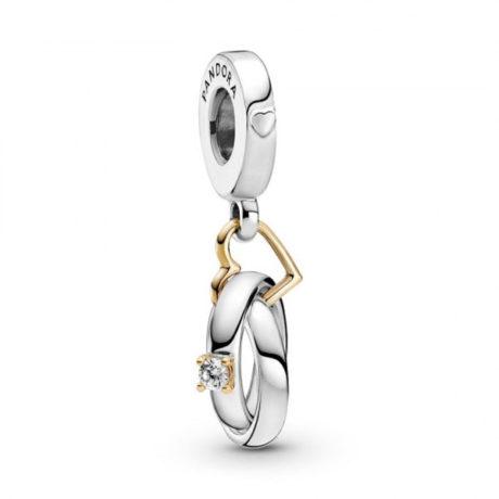 фотография подвеска пандора кольца - предложение любви 799319C01