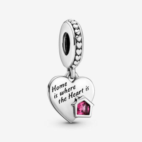 фотография подвеска пандора любимый дом 799324C01