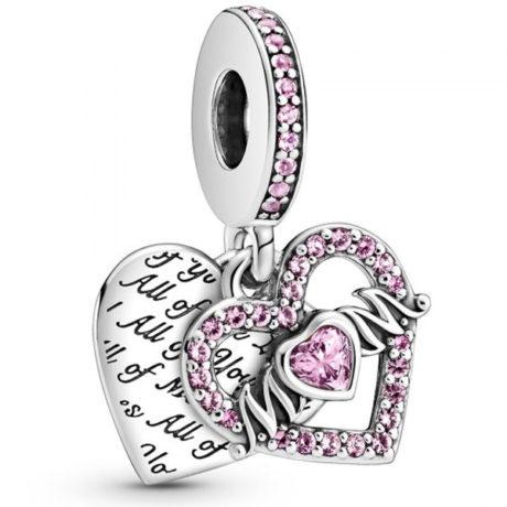фотография подвеска пандора сердце и мама 799402C01